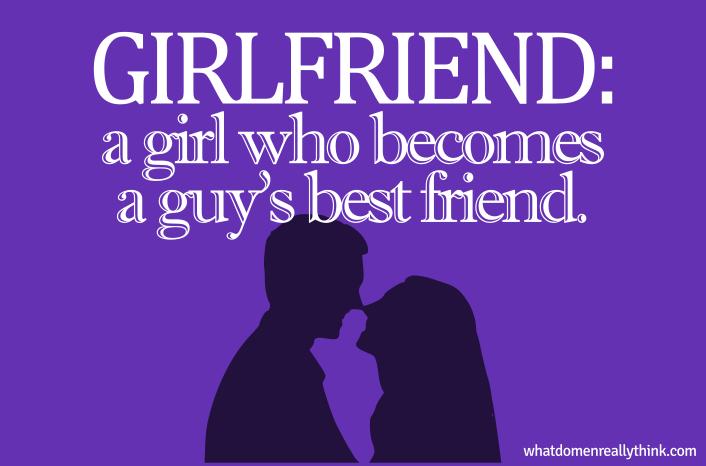 girlfriend wants to be friends