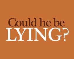 is-he-lying
