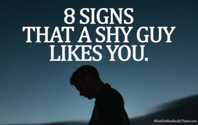8 Solid Signs That a Shy Guy Likes You – What Do Men Really Think